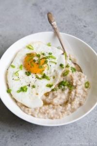 Overnight Miso Barley Oatmeal