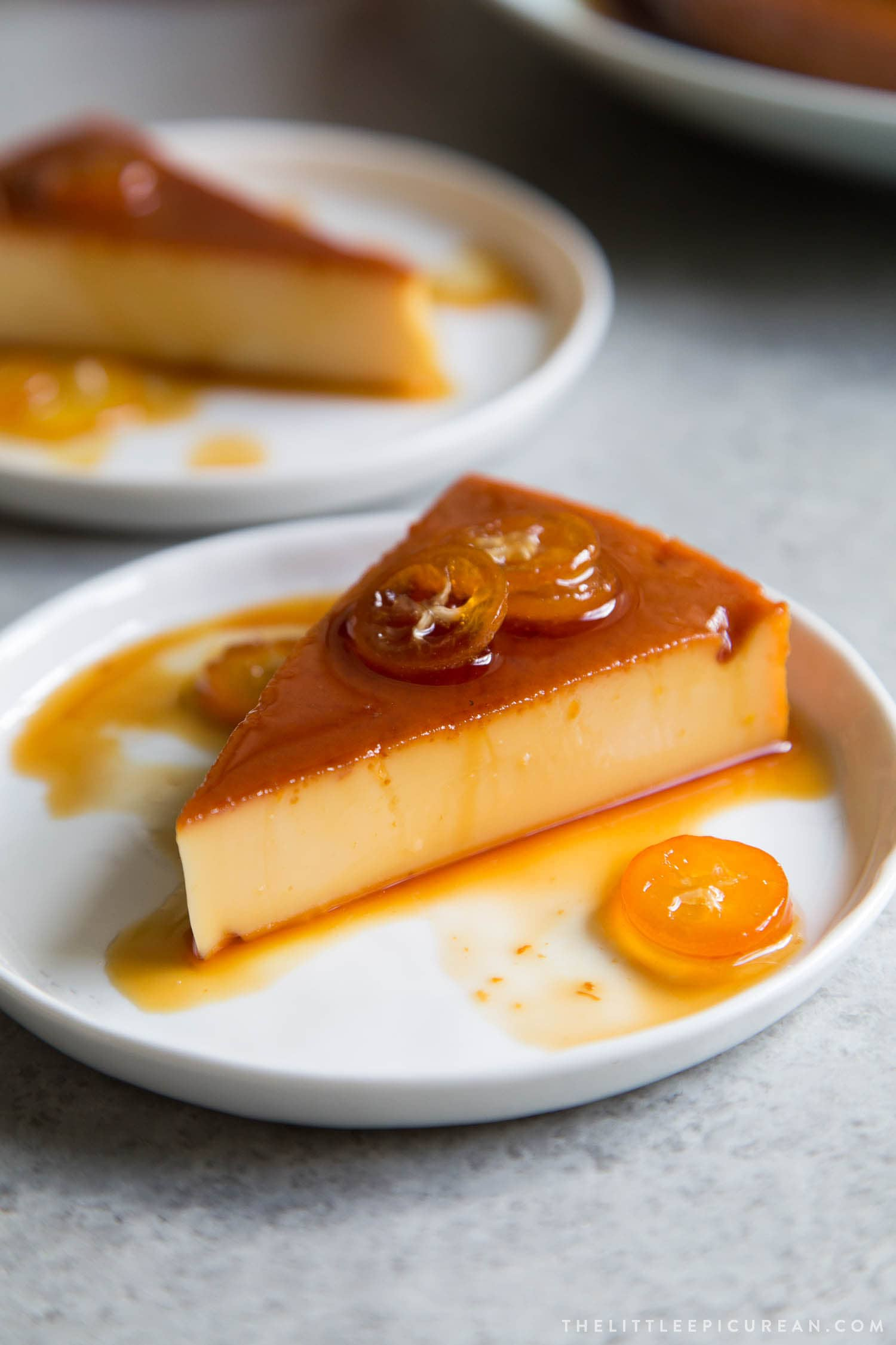 Leche Flan Filipino Milk Custard