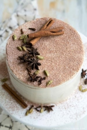 Chai Layer Cake