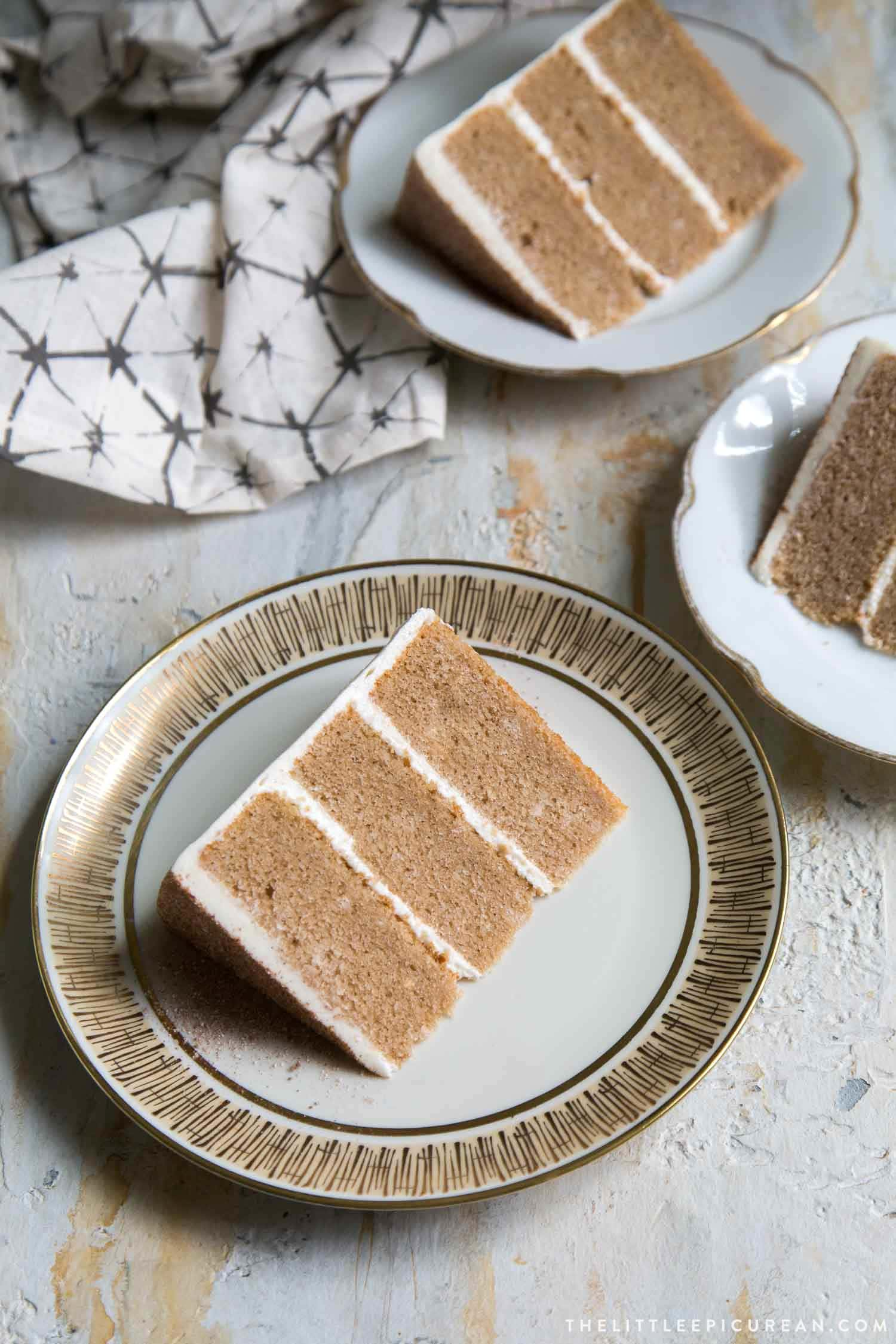 Chai Layer Cakes