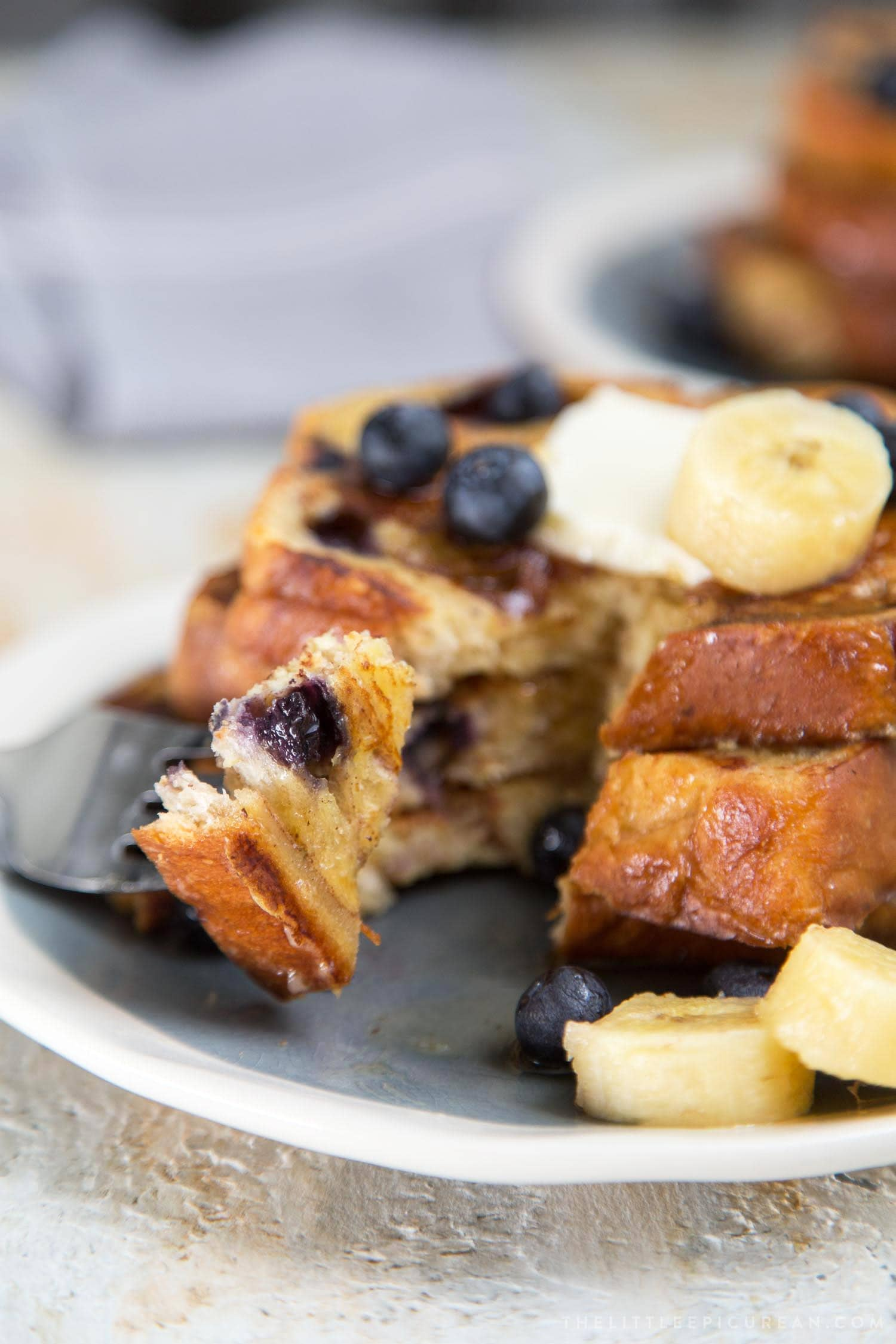 Blueberry Banana French Toast