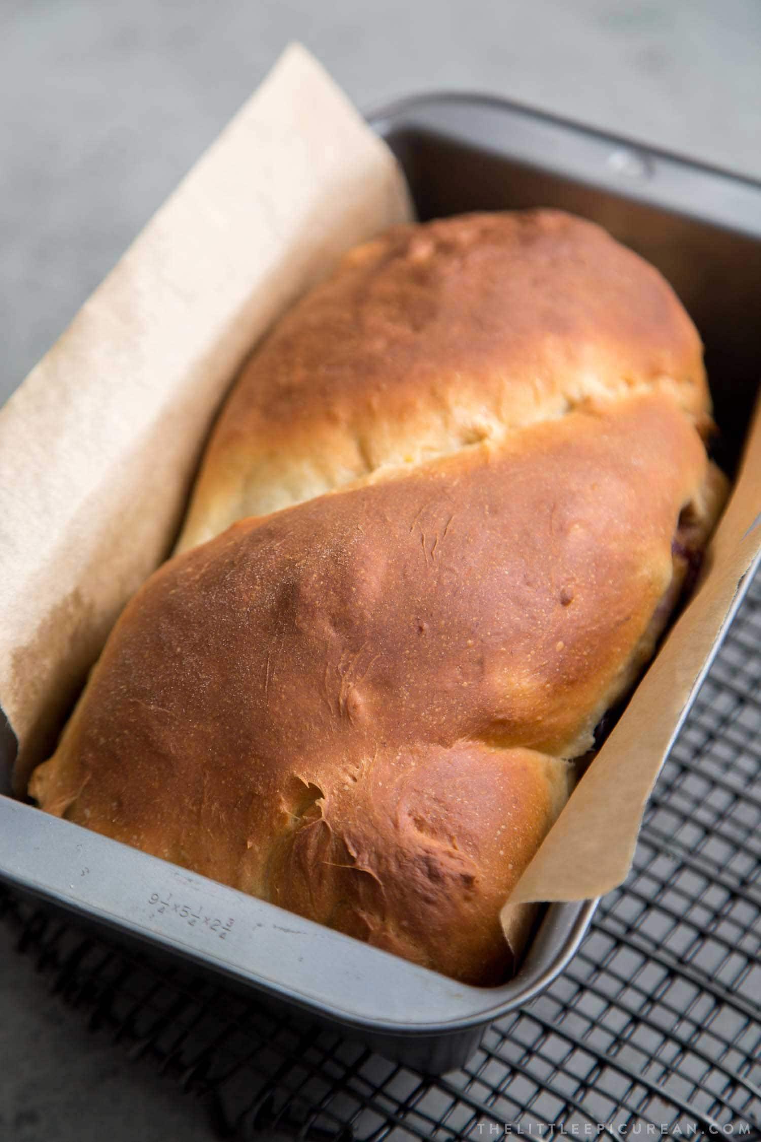 Blueberry Banana Yeast Bread