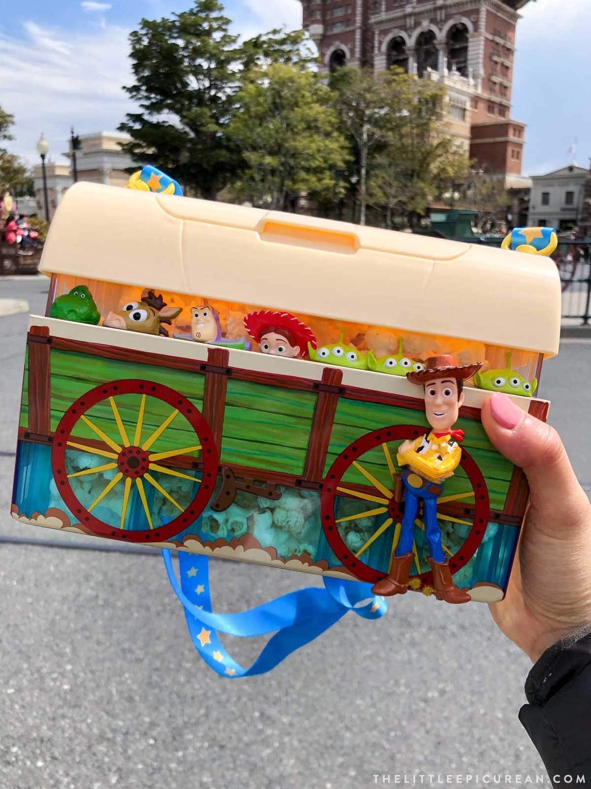 Tokyo Disney Popcorn Buckets
