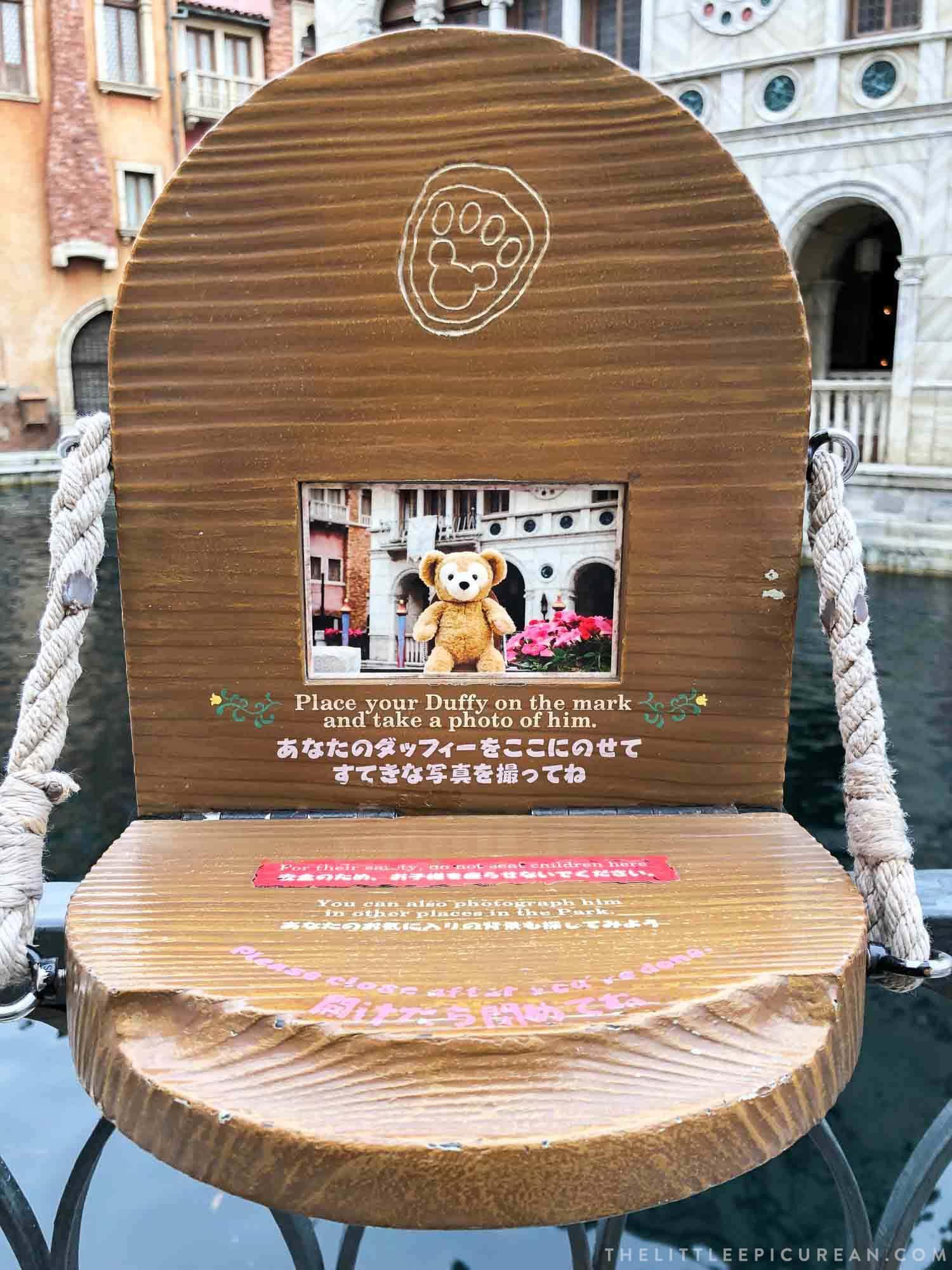 Who is Duffy? Tokyo DisneySea teddy bear