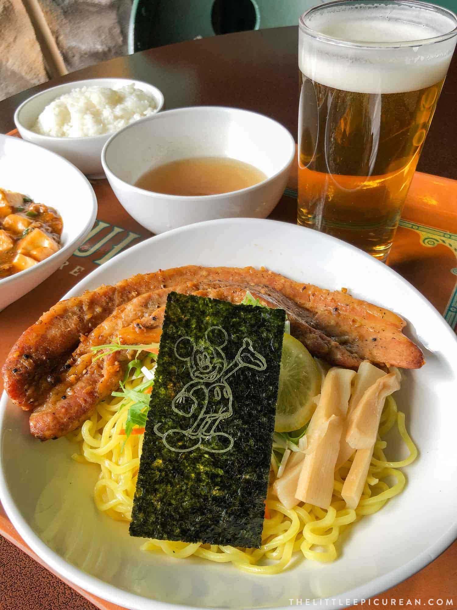 Tokyo Disneysea Food Choices