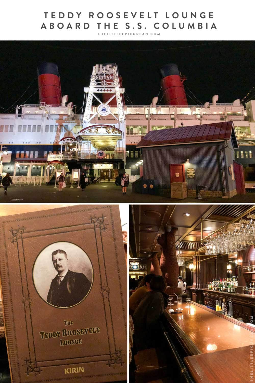 Tokyo DisneySea Teddy Roosevelt Lounge