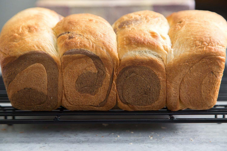 Purple Yam Milk Bread