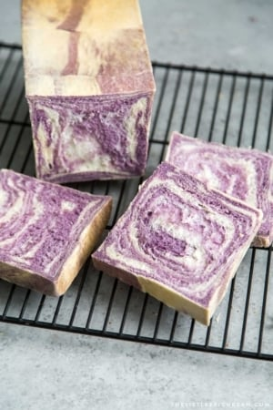 Purple Yam Milk Bread