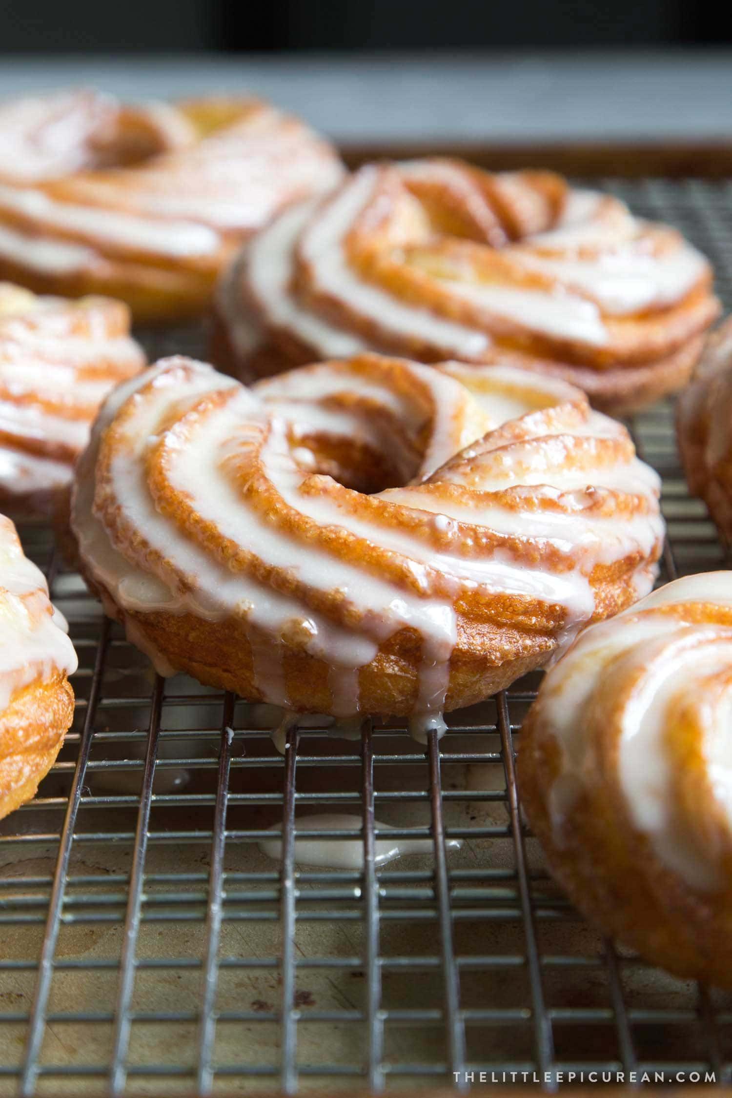 Maple Cruller Doughnuts