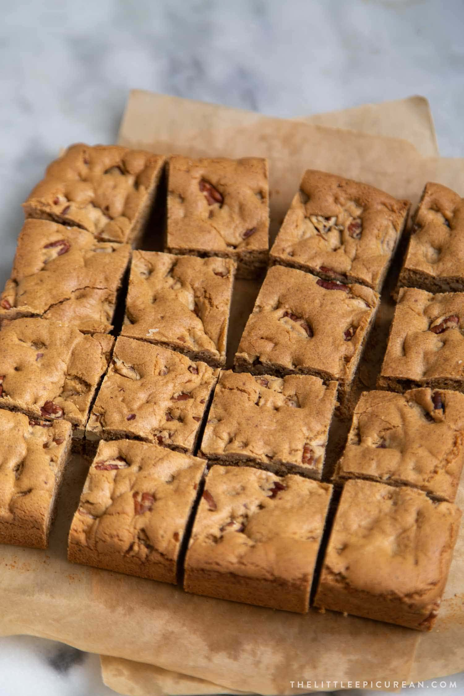 Butter Pecan Blondies