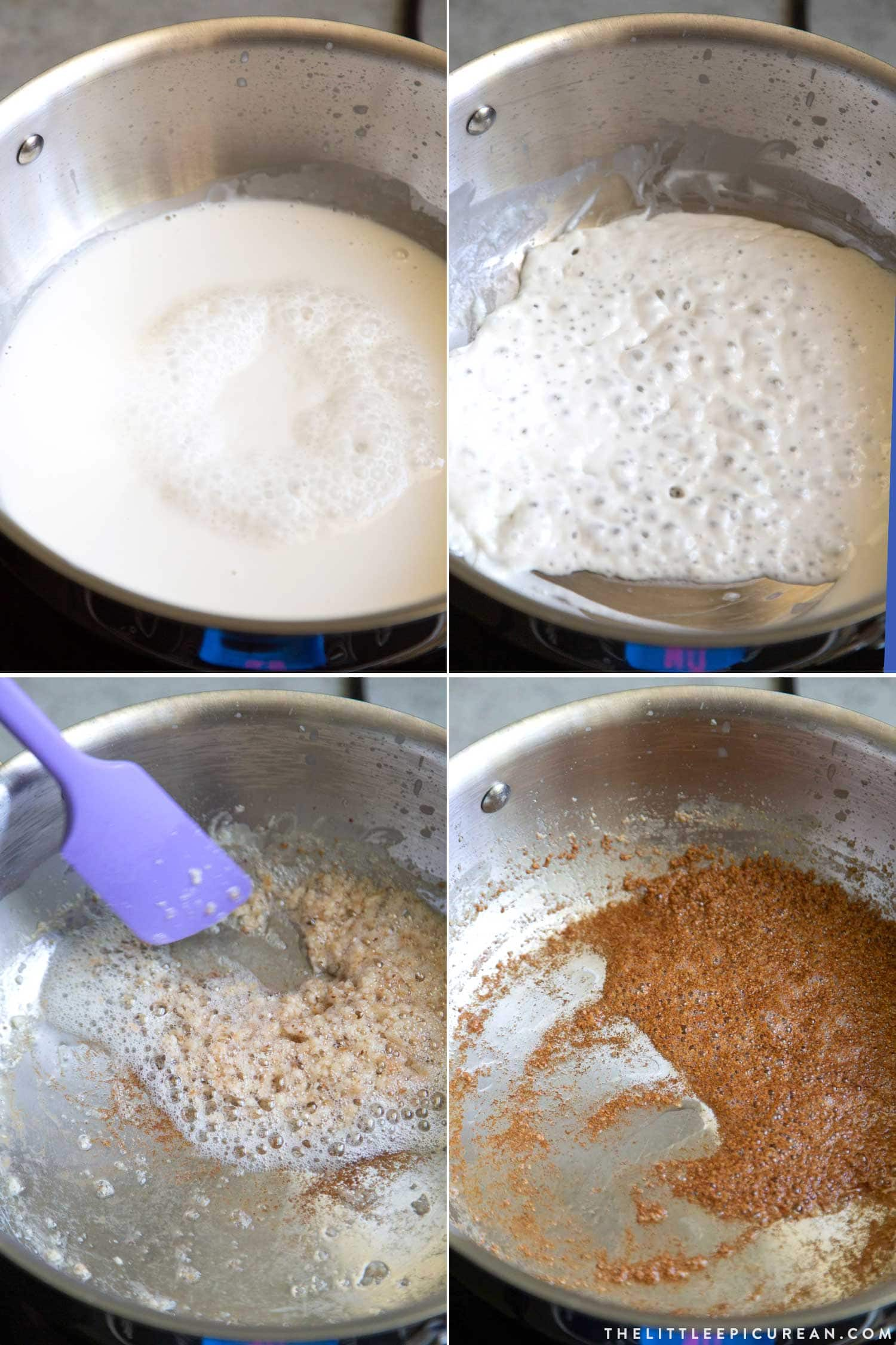 How to Make Coconut Latik (Filipino fried coconut milk curds)