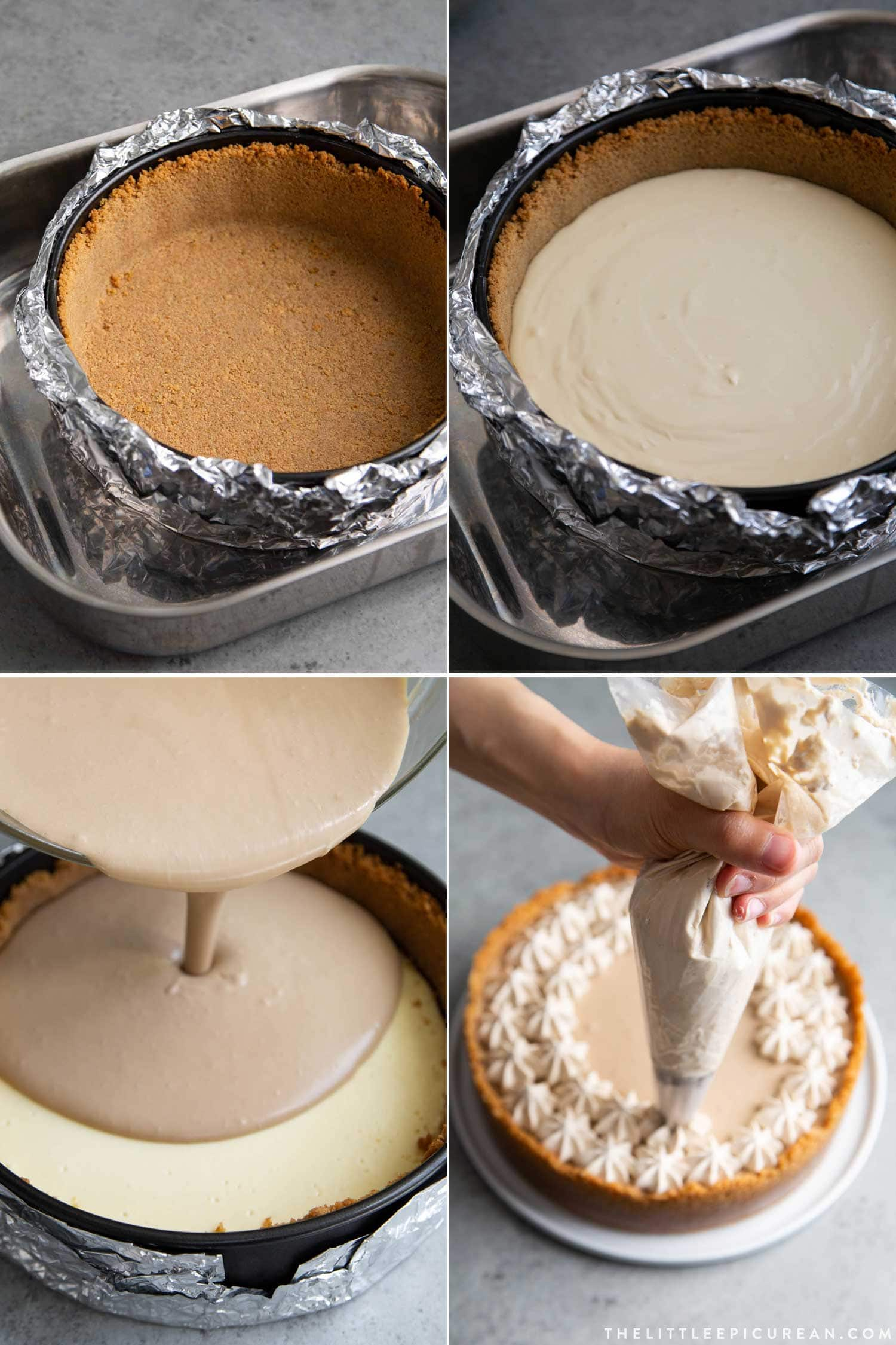 Coffee Mousse Cheesecake The Little Epicurean