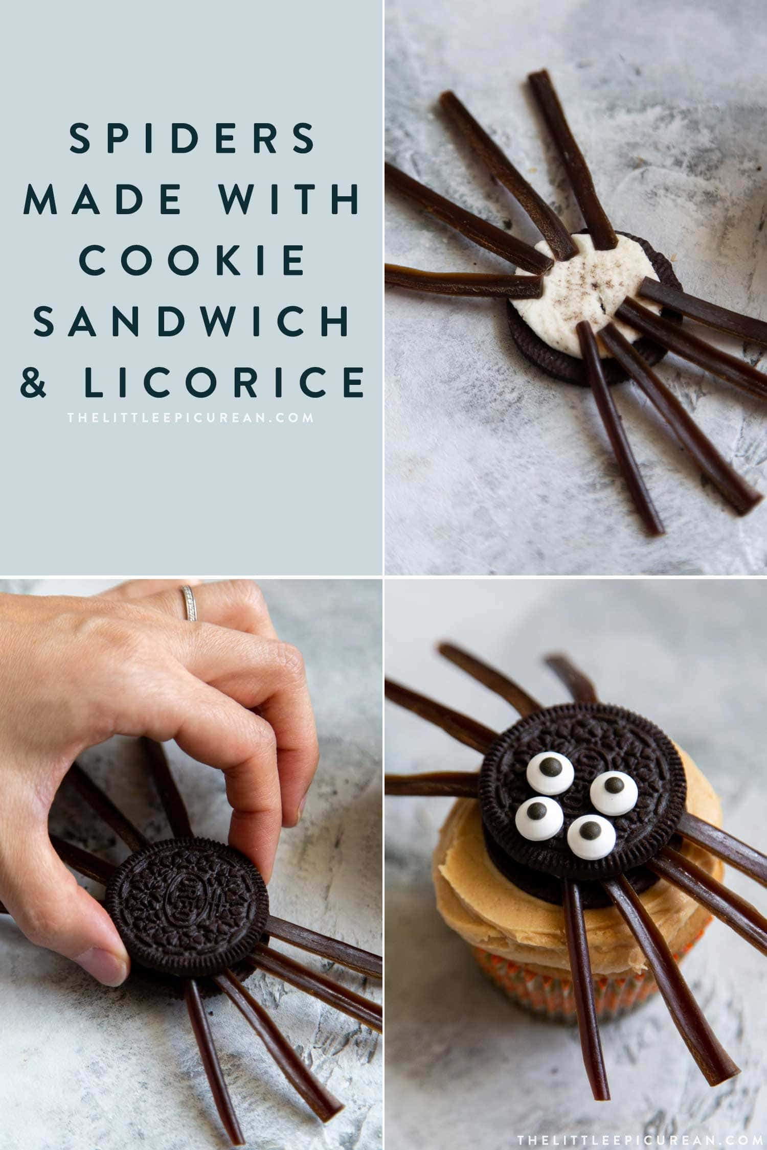 10 Easy to Decorate Halloween Cupcakes. Tutorial includes spiders, bats, monsters, and owls.