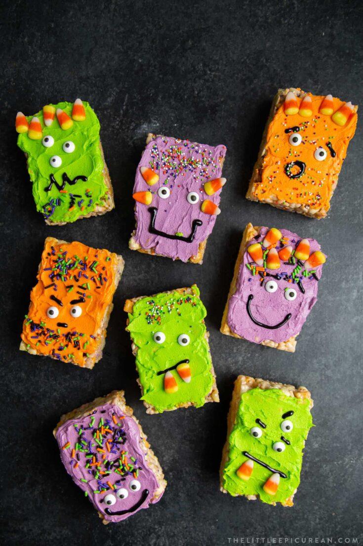 Monster Marshmallow Cereal Treats
