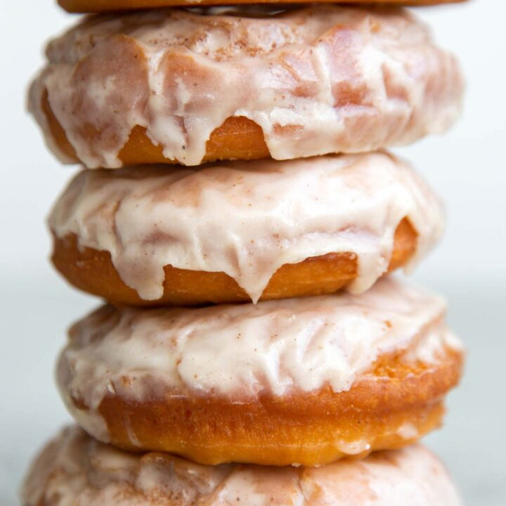 Brown Butter Glazed Old Fashioned Donuts