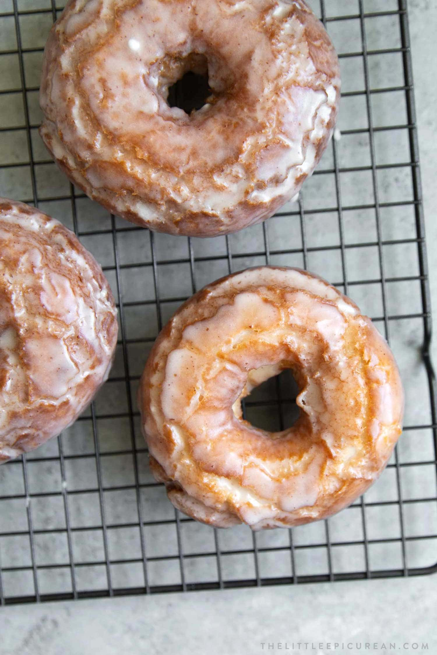 Brown Butter Old Fashioned Donuts. These homemade fried cake donuts are brown butter glazed.