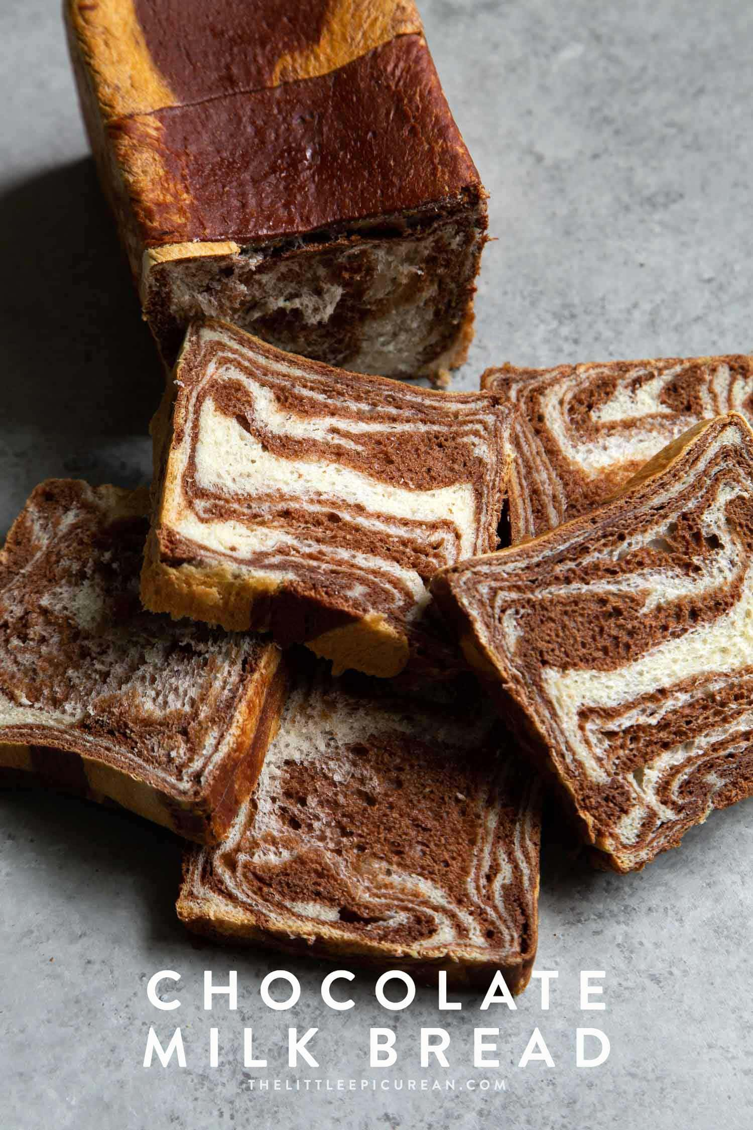 Marble Chocolate Milk Bread
