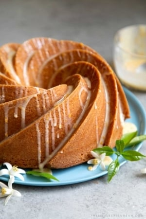 Orange Blossom Bundt Cake