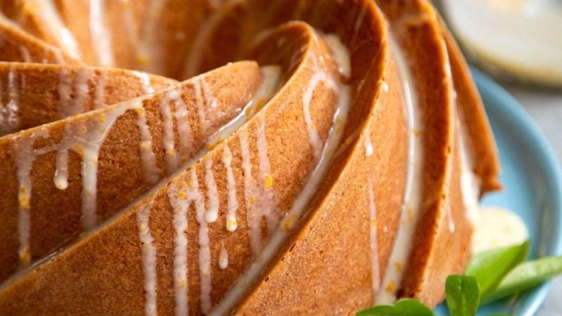 Orange Blossom Bundt Cake