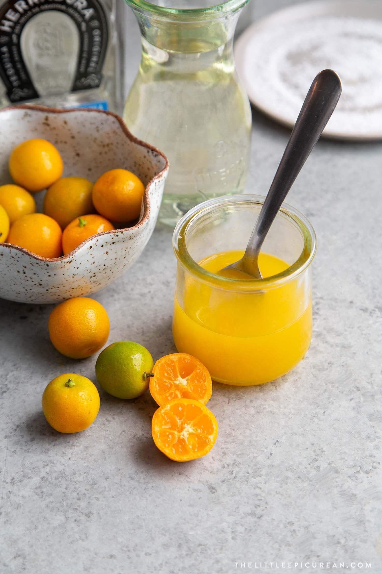 Fresh squeezed calamansi juice