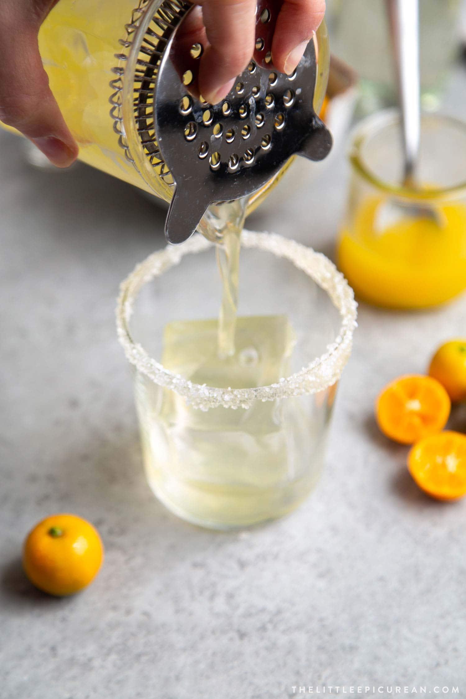 how to make calamansi margarita