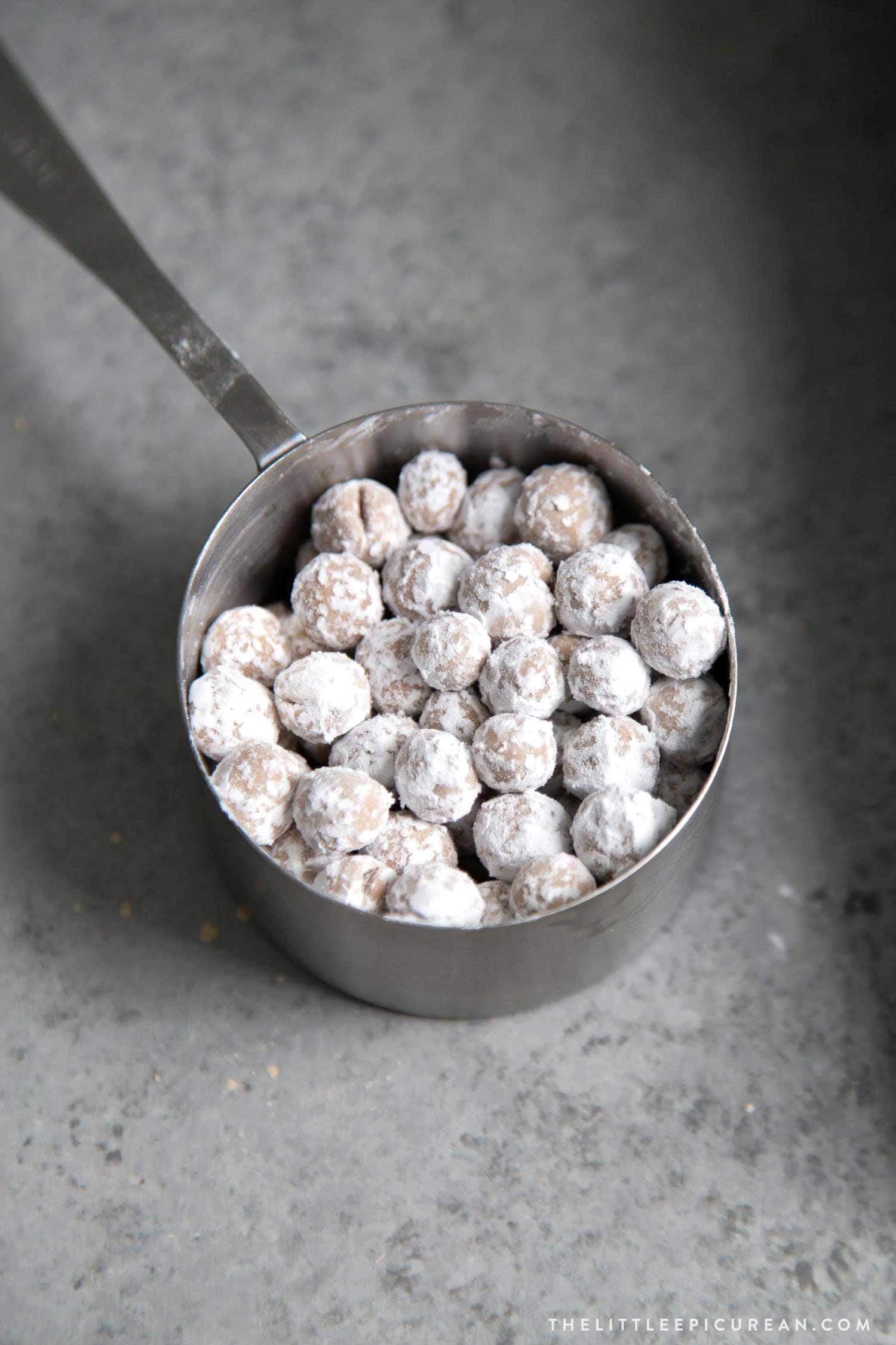 Homemade Boba Tapioca Pearls