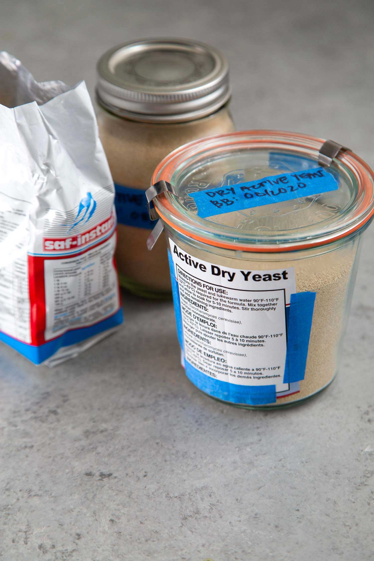 How to Store Dry Yeast