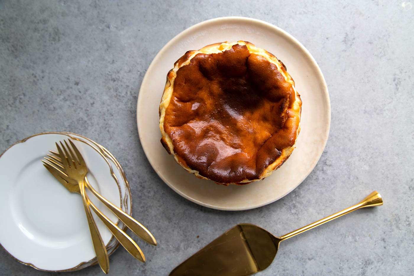 Basque Cheesecake variation
