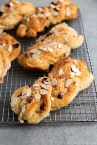 Twisted Coconut Buns
