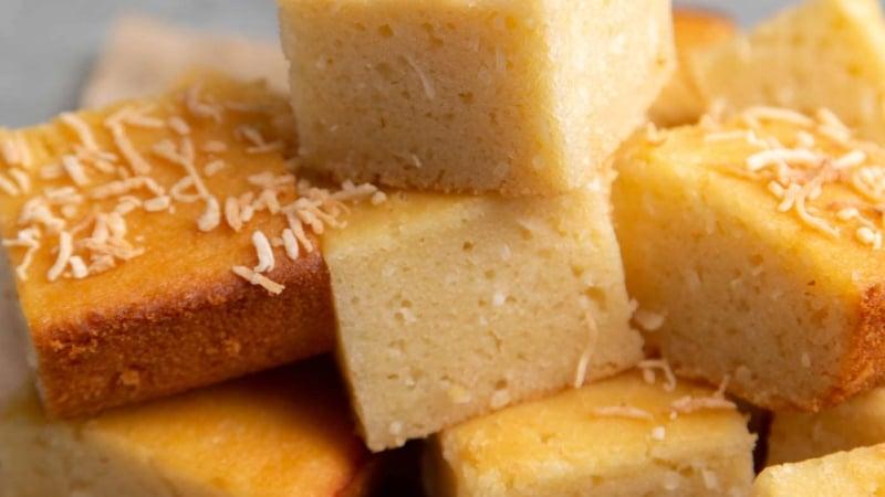 Hawaiian Butter Mochi