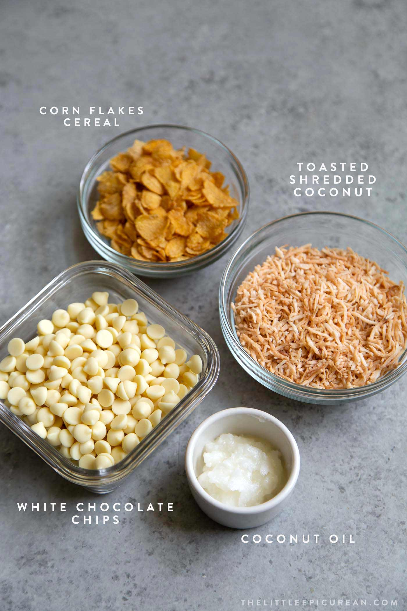 Corn Ice Cream Bars Toppings