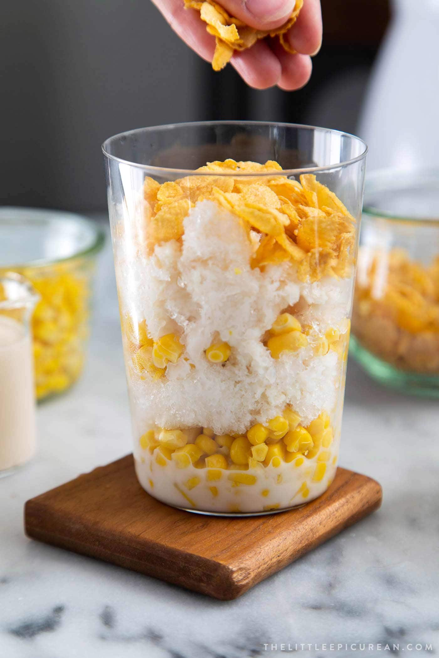 How to make Filipino Mais Con Yelo with homemade corn ice cream
