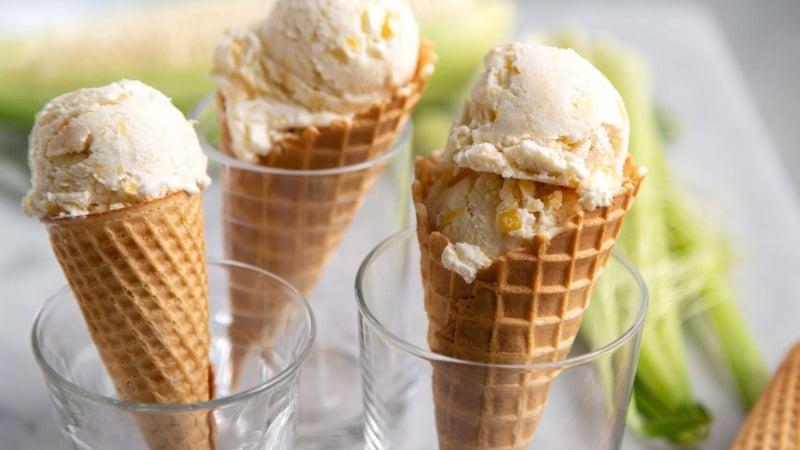 No Churn Corn Ice Cream