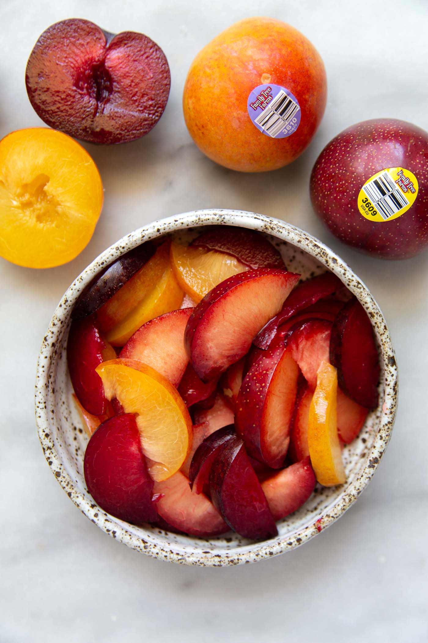 Plumcots and apriums combine the best of plums and apricots to make the most delicious summer fruit