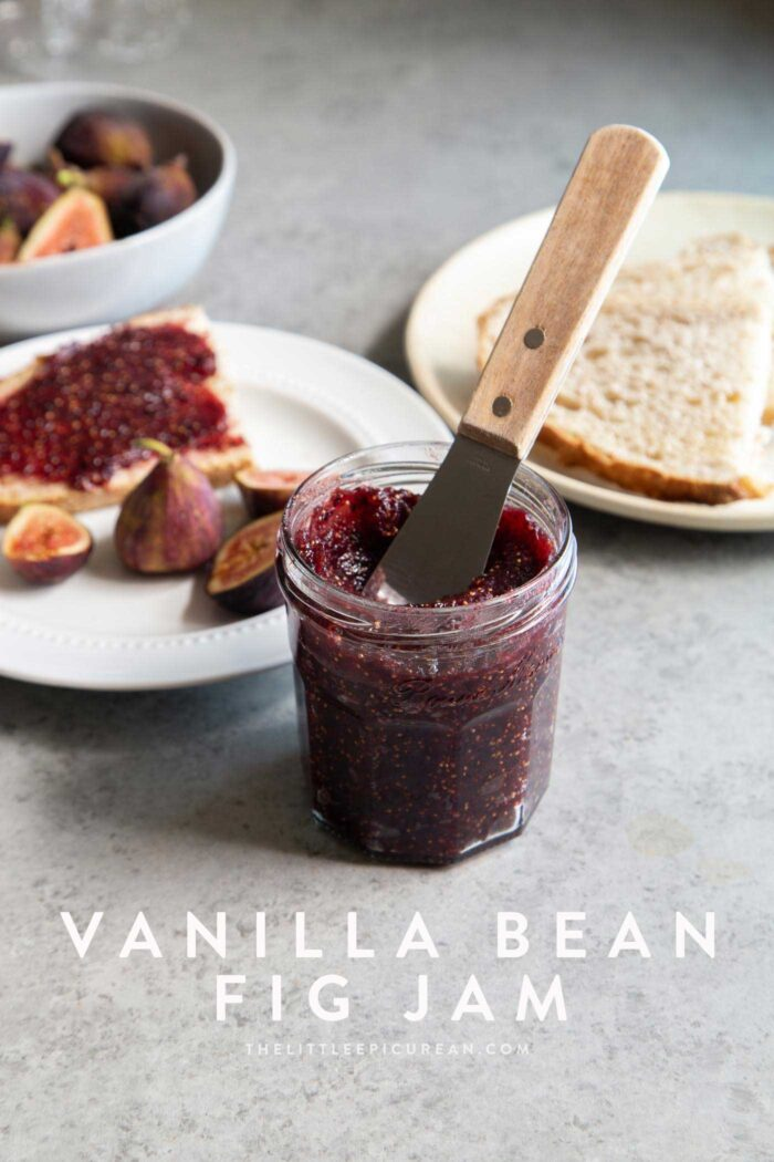 Vanilla Bean Fig Jam
