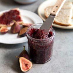 Homemade Vanilla Bean Fig Jam