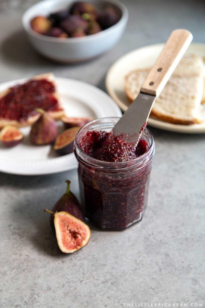 Homemade Vanilla Bean Fig Jam