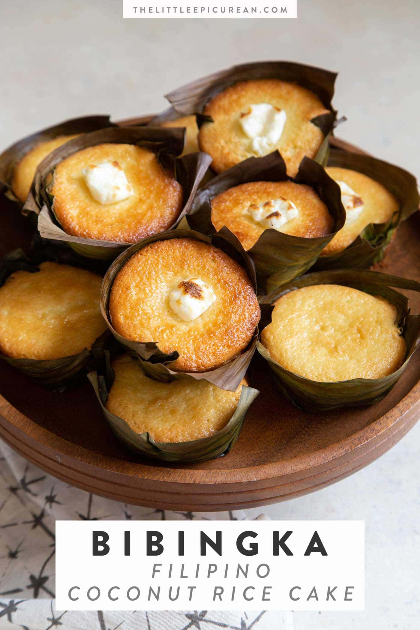Bibingka Coconut Rice Cake
