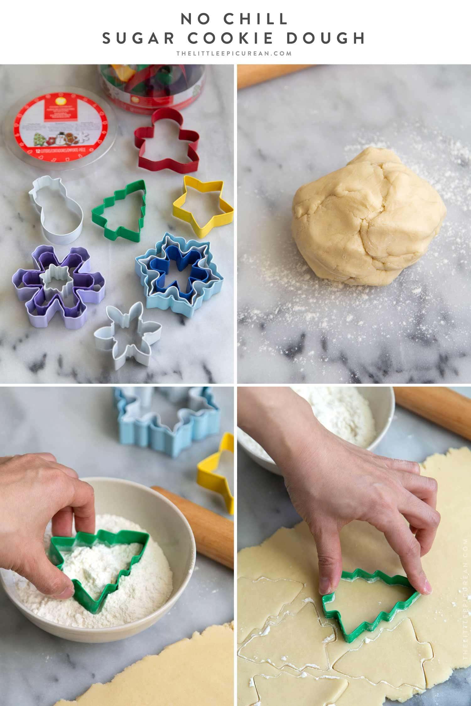 No Chill Sugar Cookie Dough Recipe