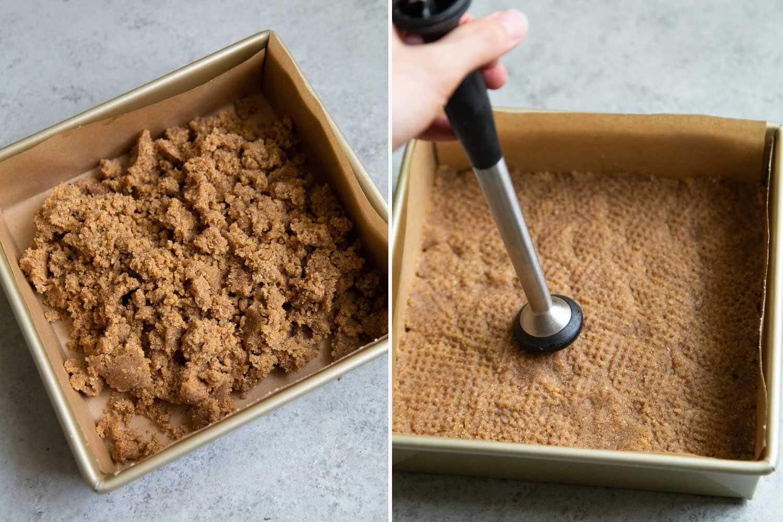 Almond Crust for Purple Sweet Potato Pie Bars