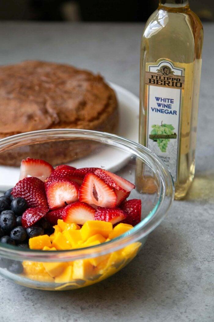 Fruit Salad with White Wine Vinegar