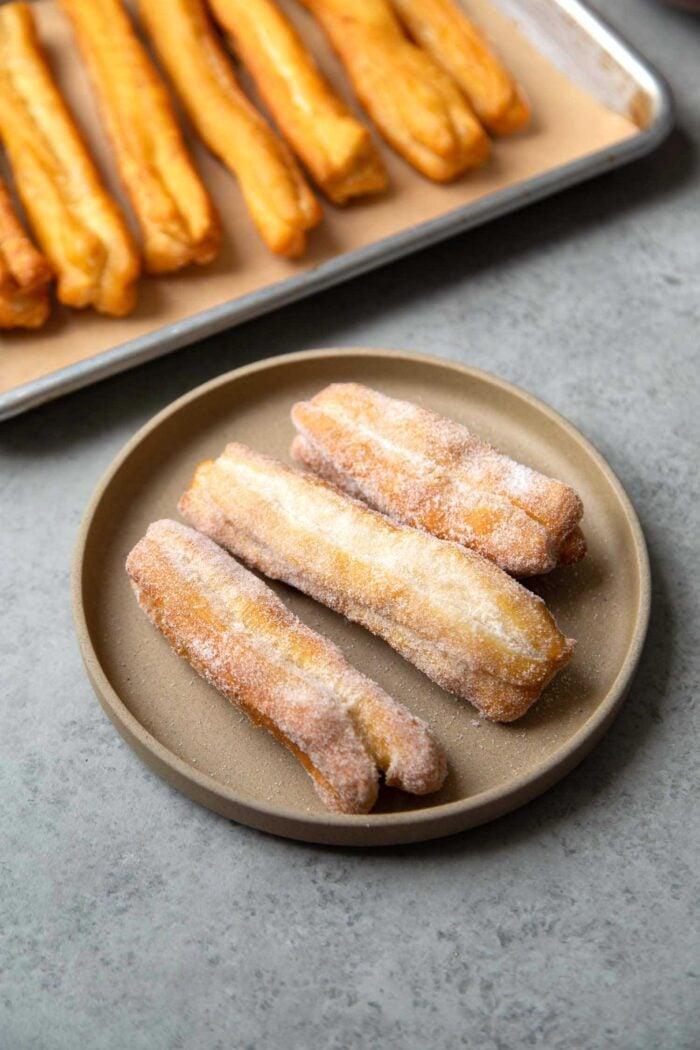 sweet youtiao chinese doughnut