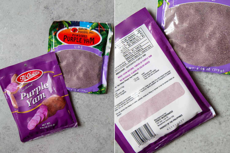 Ube Powder for Ube Sugar Cookies