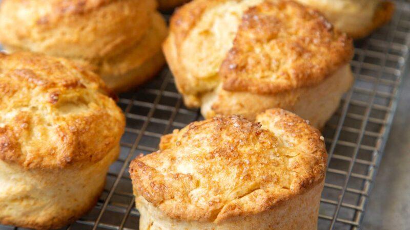 small batch cream biscuits