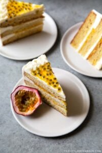 Passion Fruit Layer Cake