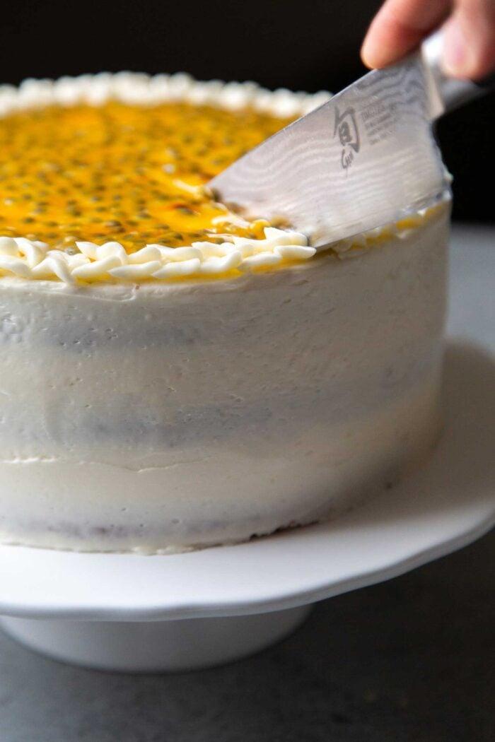 Passion Fruit Layer Cake