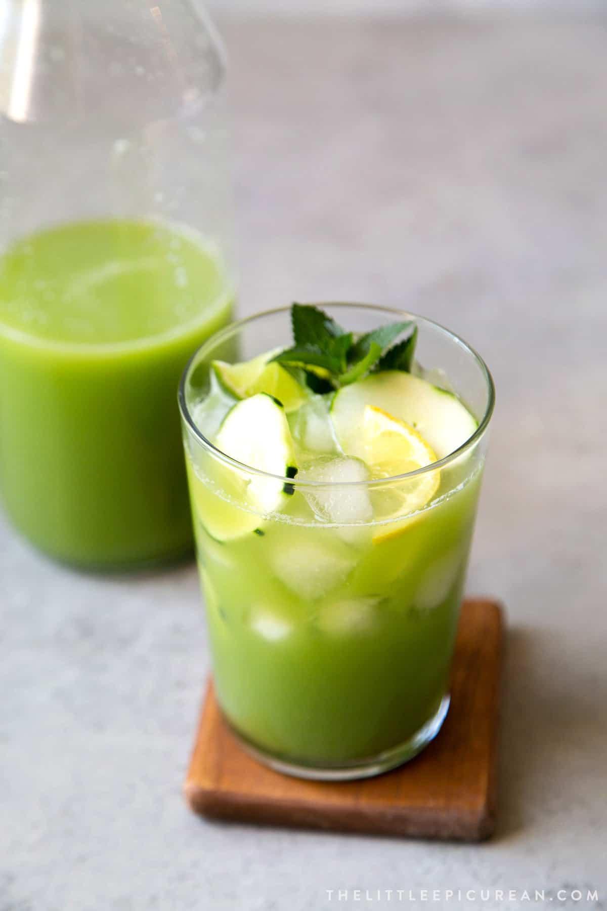 Cucumber Agua Fresca recipe