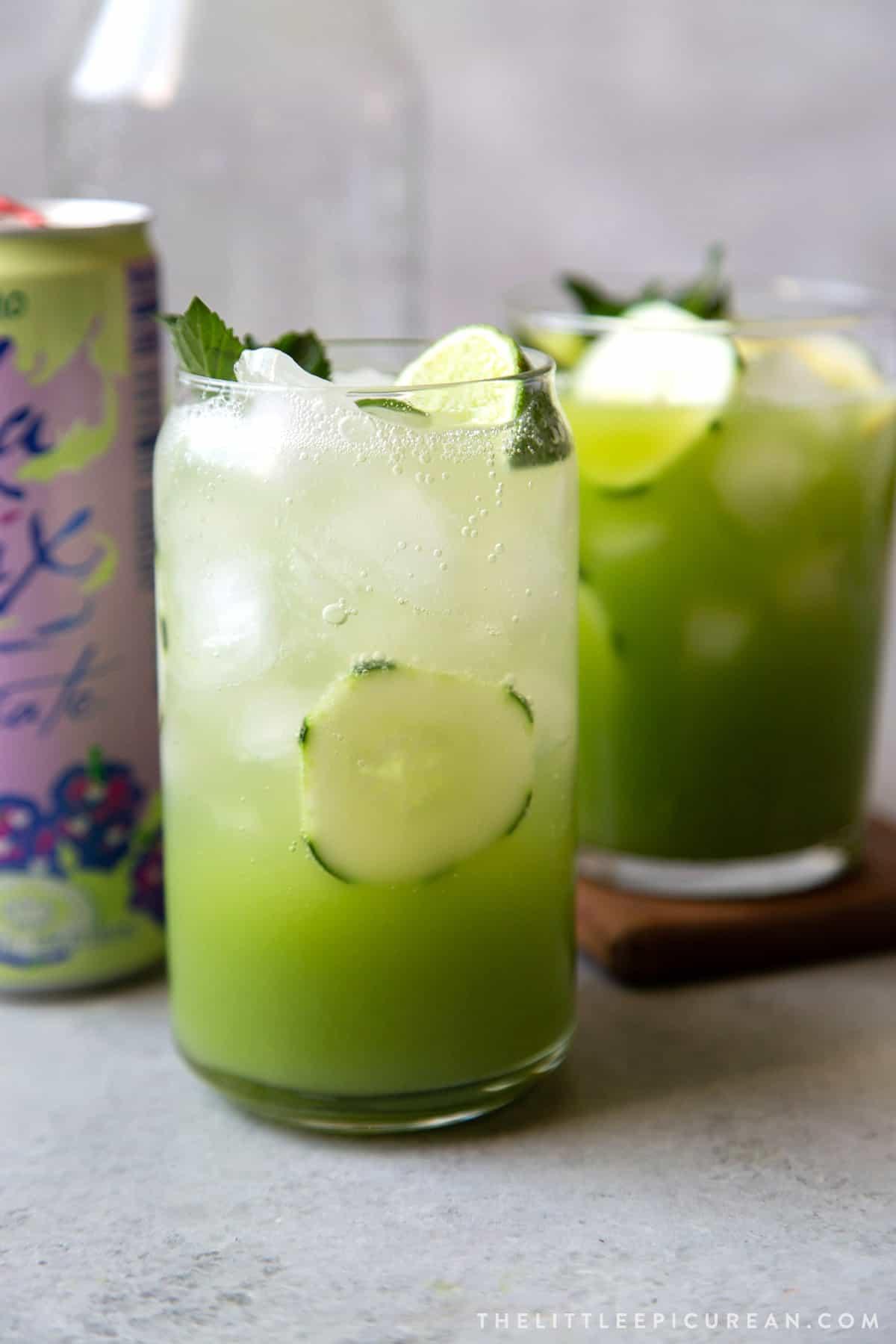 cucumber agua fresca variations